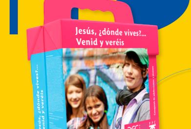 """¿Podemos trabajar ya con los recursos de la última etapa: adolescentes y jóvenes (""""Jesús: ¿dónde vives? Venid y veréis"""")?"""