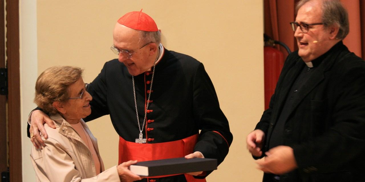 Reconocimiento a la catequista Raquel Notario García