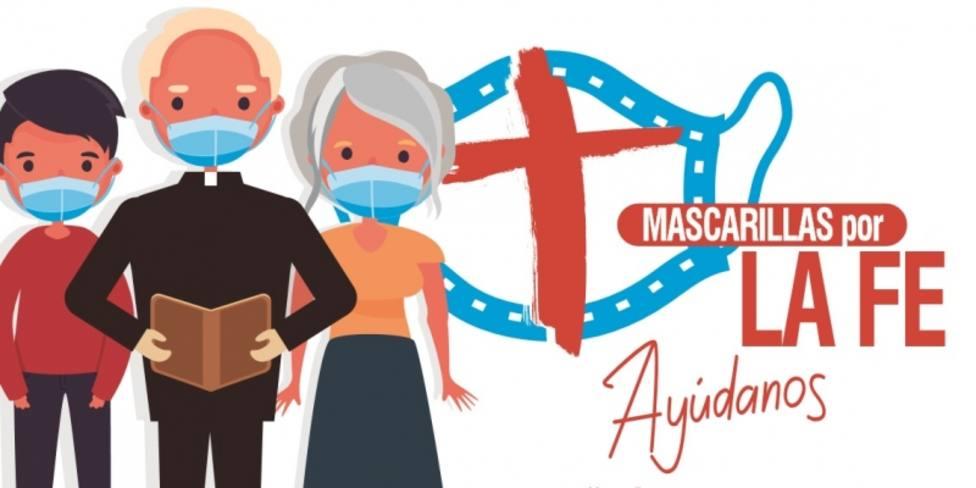 El Arzobispado lanza la campaña Mascarillas de la fe