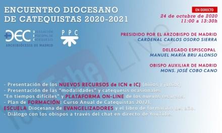 ESTE SÁBADO ENCUENTRO DIOCESANO DE CATEQUISTAS ON LINE