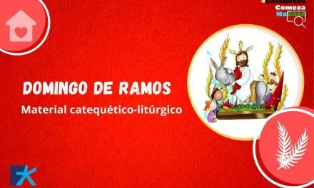 Material catequético-litúrgico para el Domingo de Ramos