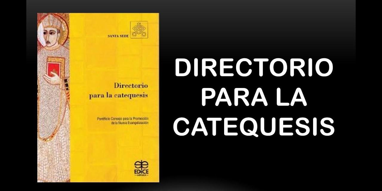 PROGRAMA del VI Curso Anual de Catequesis 2021-2022: UN NUEVO DIRECTORIO PARA UNA NUEVA CATEQUESIS EN UNA IGLESIA SINODAL