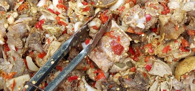 goat meat bbq