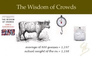 Crowd wisdom accuracy james surowiecki