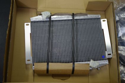 Radiator in packaging