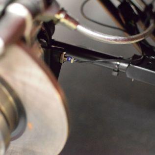 Speedo sensor attached to ARB bracket at rear offside wheel.