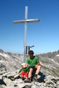 Bergwandern mit Kind: Rosskopf (2.845m) in den Zillertaler Alpen