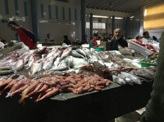Seafood Market in Tangiers, Morocco Photo Credit: Caterina Novelliere November 2016