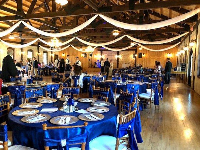 Rentals at a Wedding