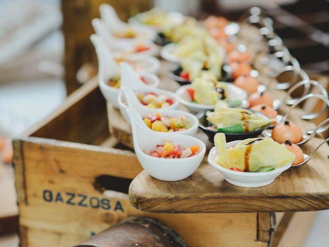 Il finger food salato si sposa con la frutta