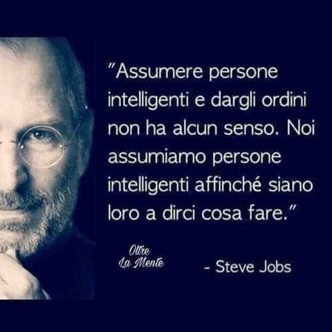 Lavora con noi Steve Jobs