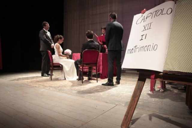 wedding show matrimonio a teatro
