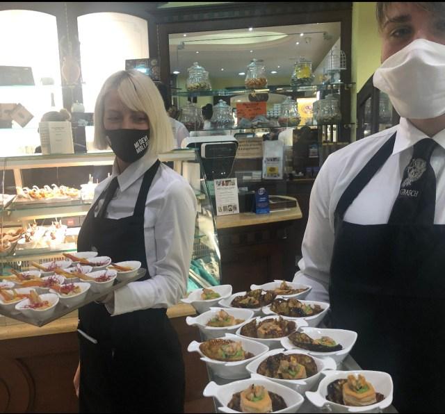 Pasticceria Alber Catering Grasch Amuse Bouche