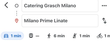 Catering Grasch Linate Prime