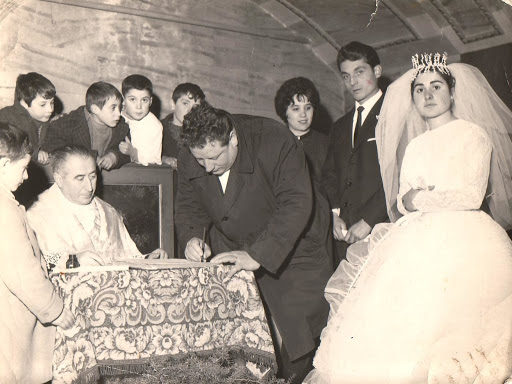 Matrimonio tradizionale italiano Firma