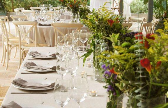 Catering Marc Fosh decoración bodas