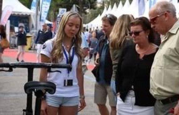 Video para la empresa Catering Marc Fosh noticia sobre el salón nautico de Palma