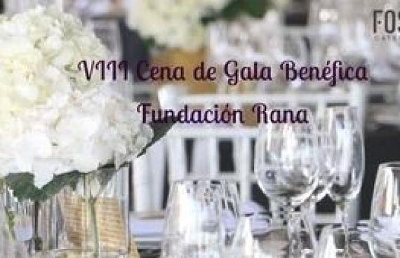 VIII Cena de Gala Benéfica de la Fundación RANA con Catering Marc Fosh