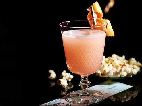 Der Gewinnercocktail beim Cocktail Wettbewerb: Lukas Pop It