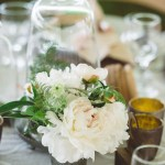 White Peony Wedding Bouquets Northern Michigan Cherry Basket Farm