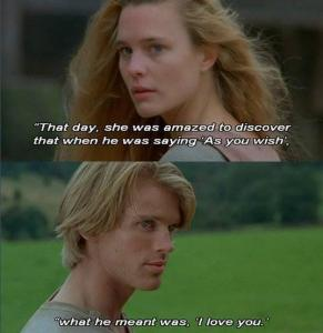 Love in The Princess Bride