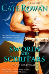 Second cover of Swords and Scimitars