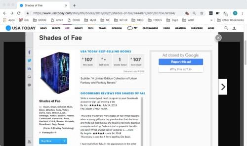 Shades of Fae #107 USAT