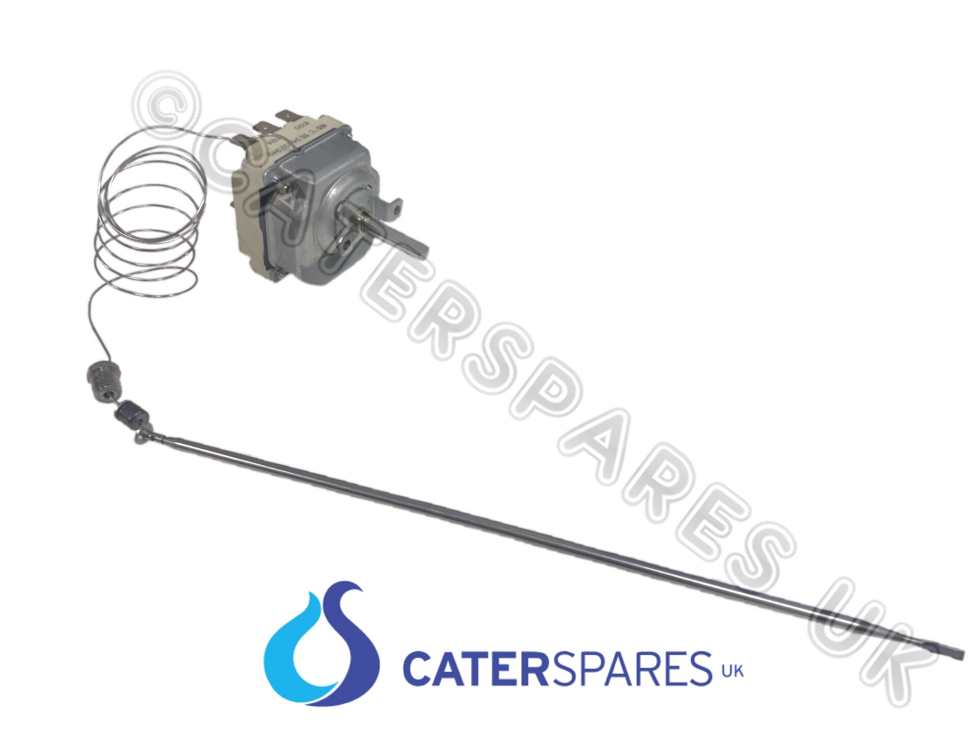 Ego 55 340 3 Phase Fryer Control Thermostat 130 185oc 6 Pin Caterspares