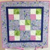 4 Patch Wall-Hanging Quilt by Maureen Anderson