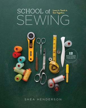 School Of Sewing Book Cover