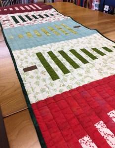 Christmas Tree Table Runner Workshop @ Cate's Sew Modern
