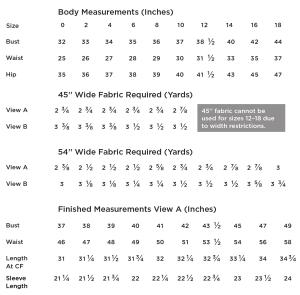 farrow_measurement_chart