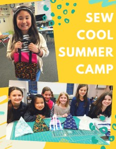 Sew Cool Summer Camp - Session IV @ Cate's Sew Modern