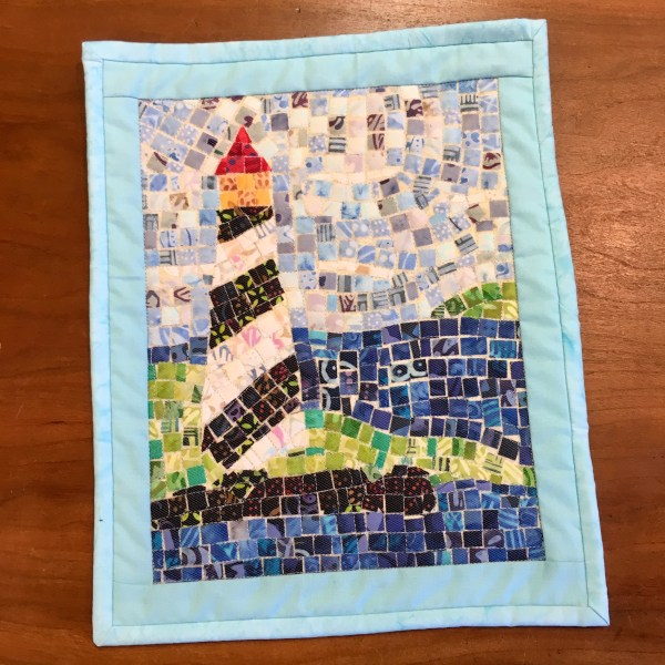 Mini Mosaic Quilt – Lighthouse