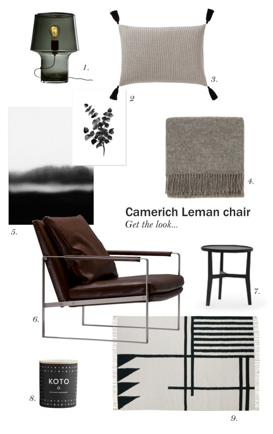camerich leman chair