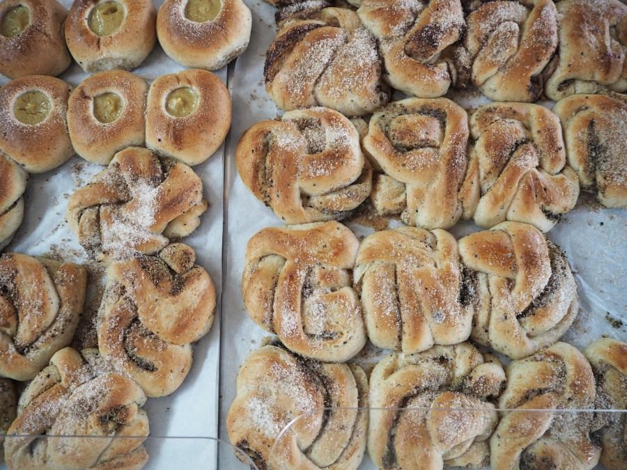 Danish cinnamon buns