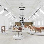 Fredericia's new rooftop showroom in Copenhagen