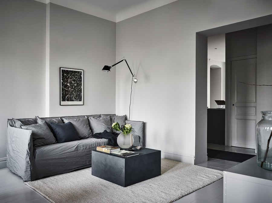 Home tour - I wish I lived in this monochrome Swedish home