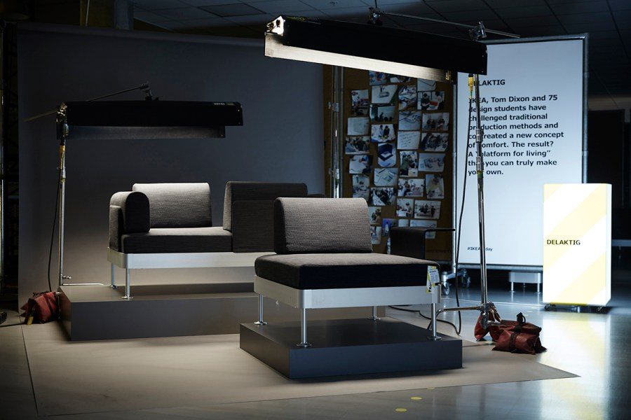 Upcoming collections to look forward to from IKEA - DELAKTIG sofa by Tom Dixon