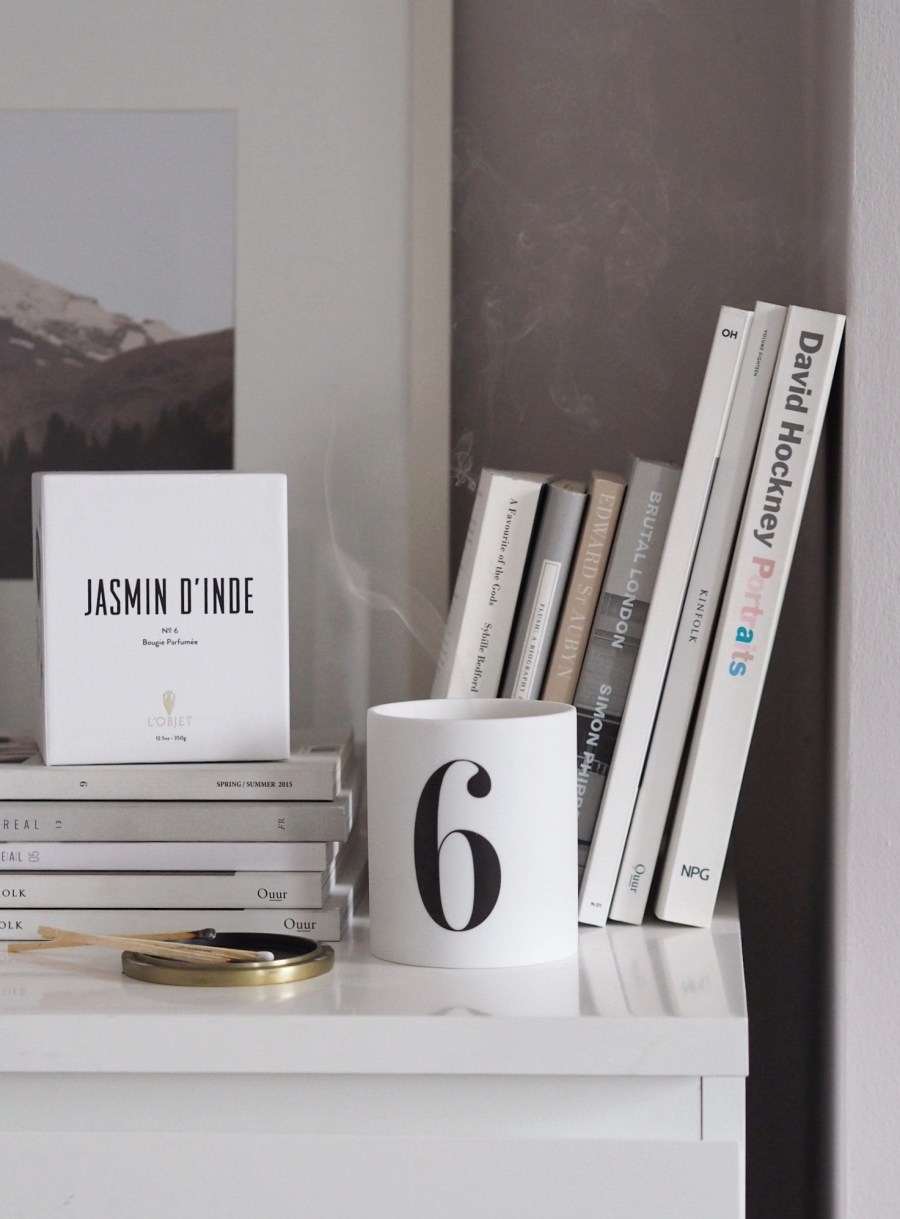 best of scented candles - l'Objet Jasmine candle