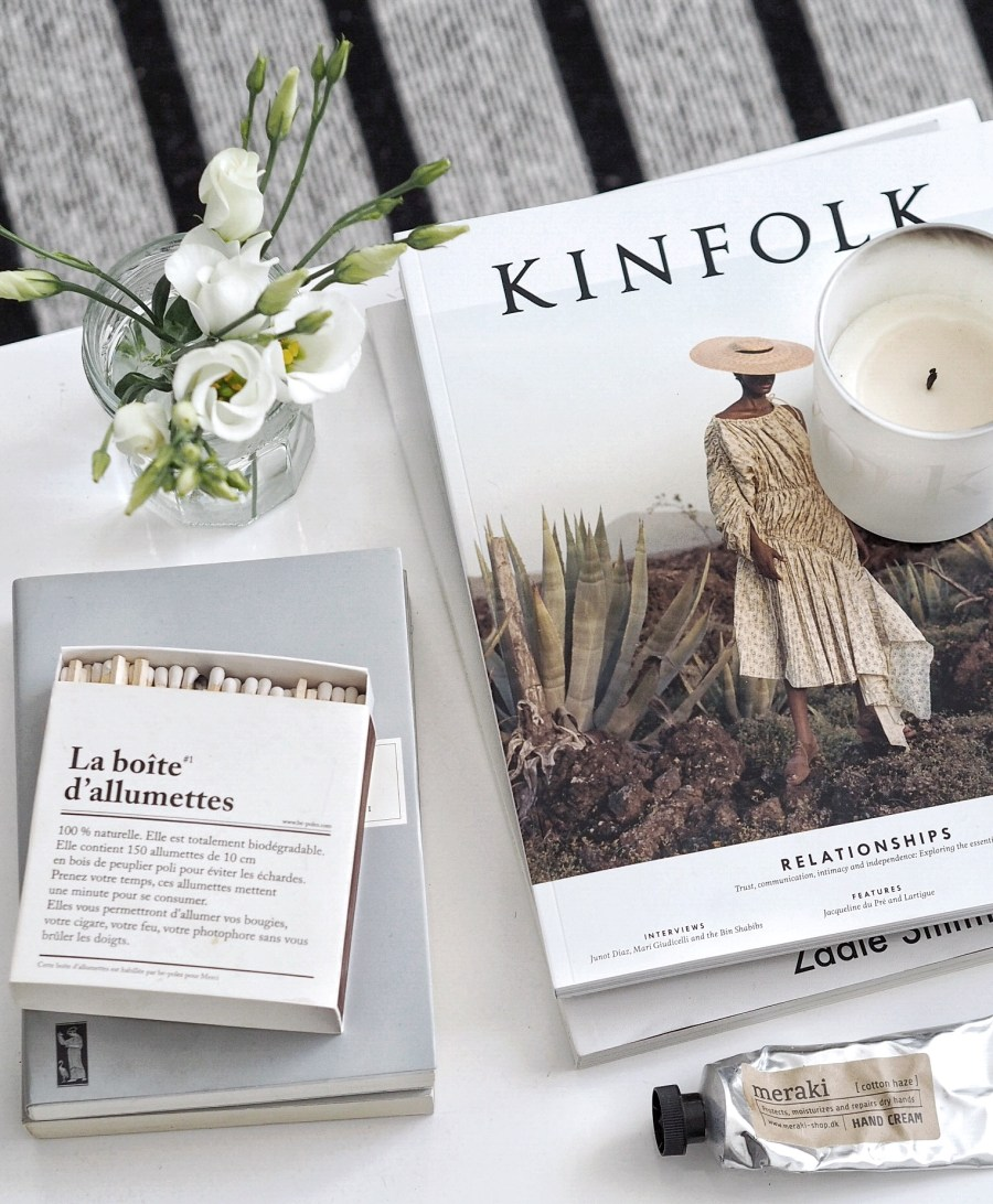 best of scented candles - coffee table style and Kinfolk