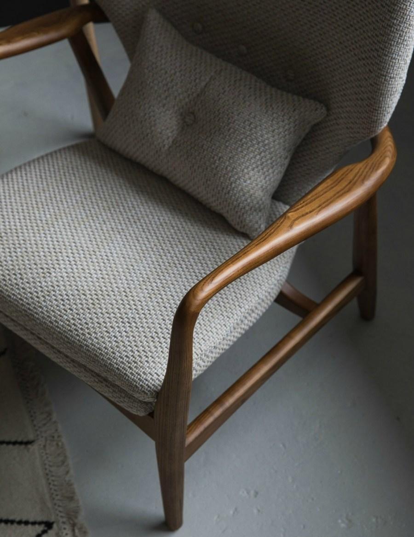 Aarhus mid-century chair, Rose & Grey