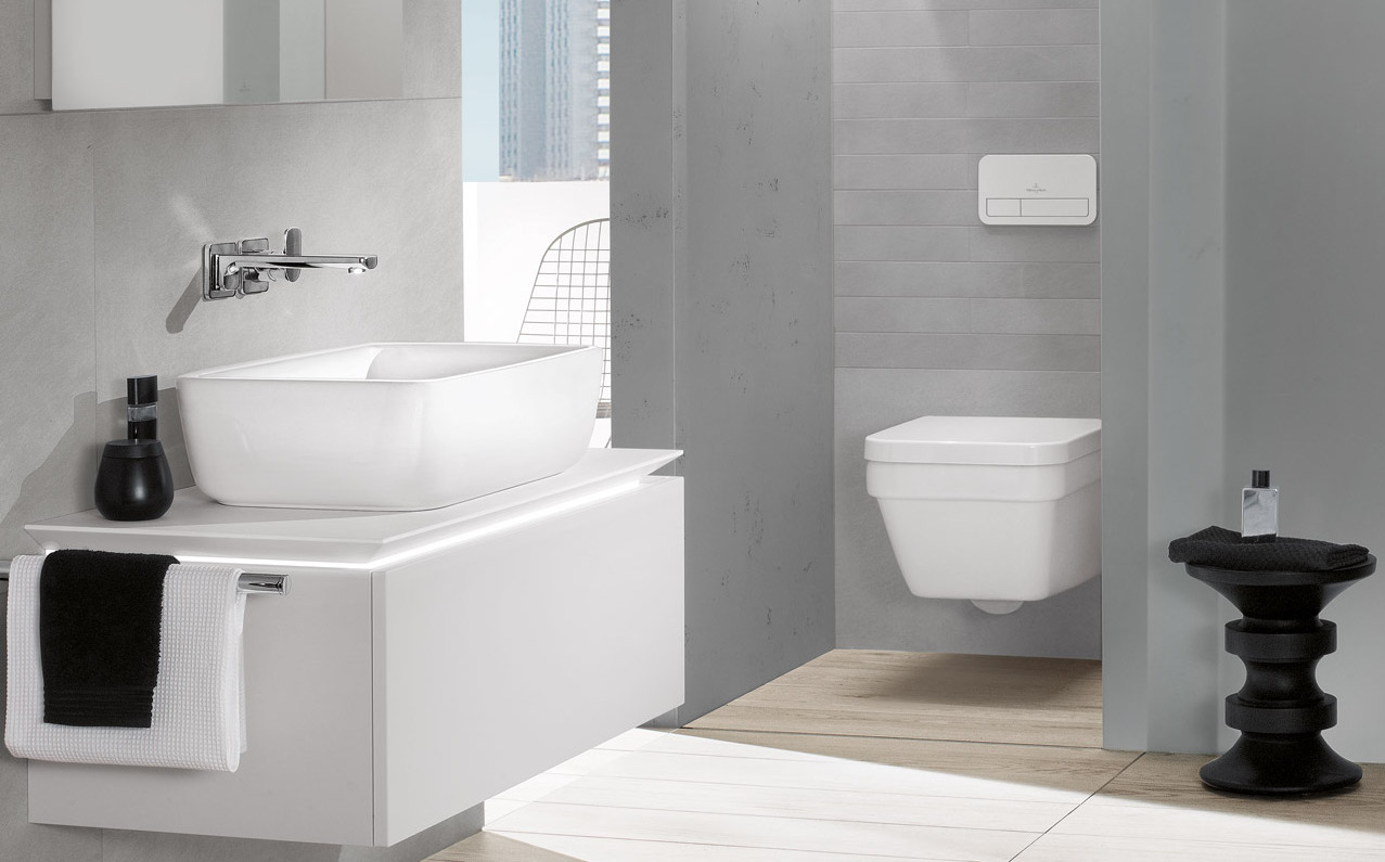 Design your dream bathroom with Villeroy & Boch planning tool