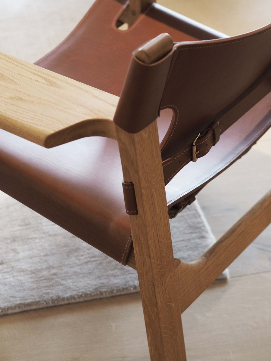 Fredericia Furniture showroom Copenhagen - The Spanish Chair by Børge Mogensen