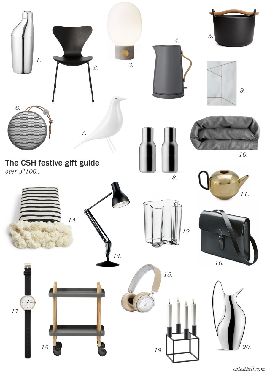 The CSH festive gift guide – over £100