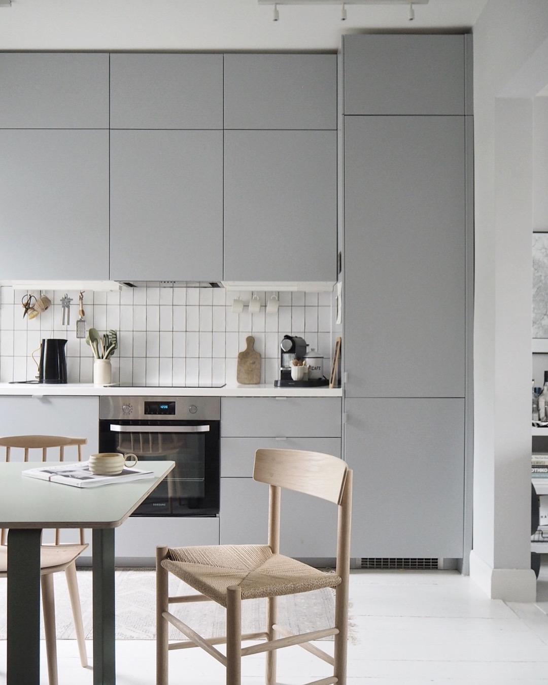 Home Tour   Scandi Inspired Grey Kitchen ...
