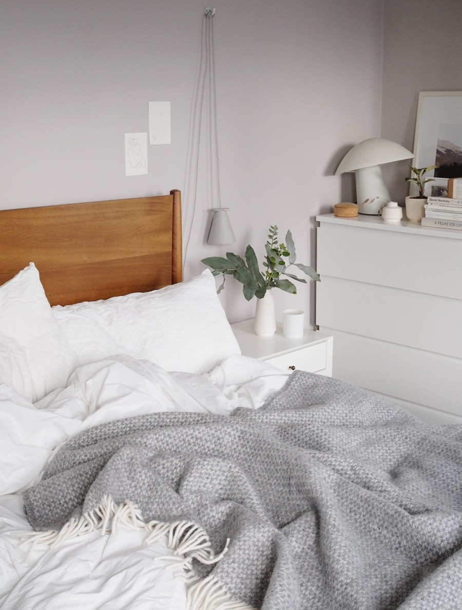 Embracing Lagom and preparing the bedroom for winter with Homesense [AD]