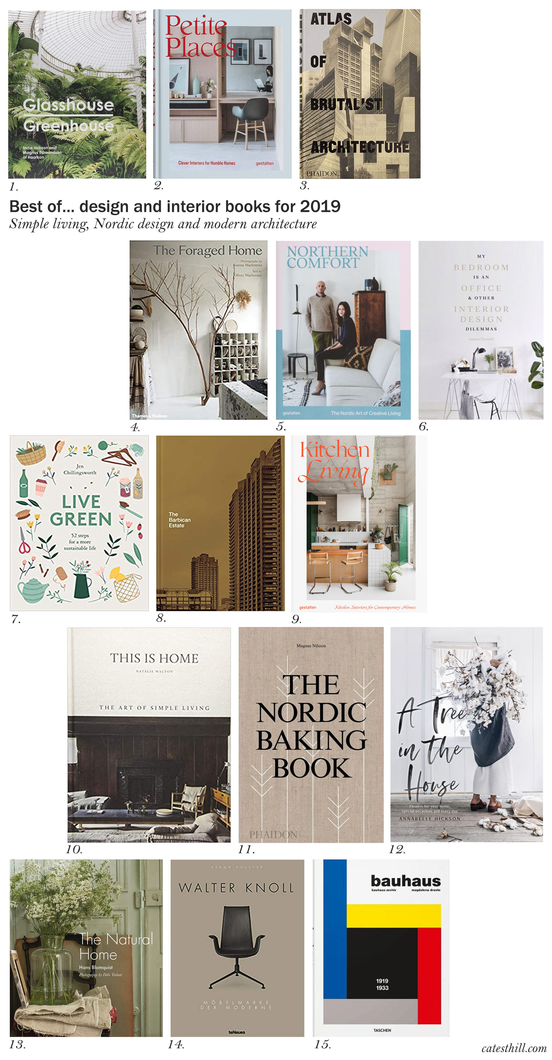 15 of the best design and interior books for 2019 , Cate St Hill