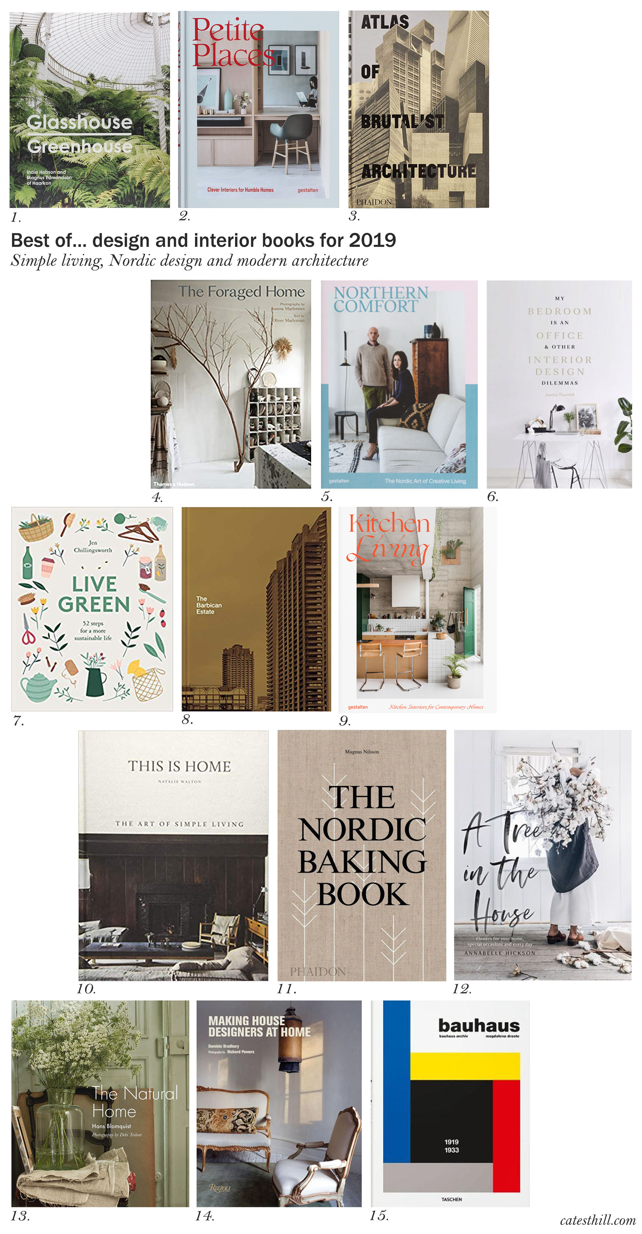 15 Of The Best Design And Interior Books For 2019 Cate St Hill