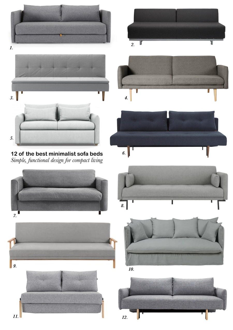 12 of the best minimalist sofa beds for small spaces